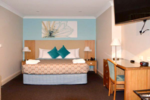 Bathurst Accommodation 4.5 star 1 bedroom King Spa deluxe suite